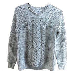 Vero Moda ribbed sweater with cable knit Sz XS